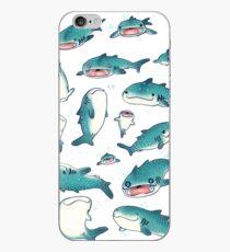 Vinilo o funda para iPhone ¡tiburones ballena!