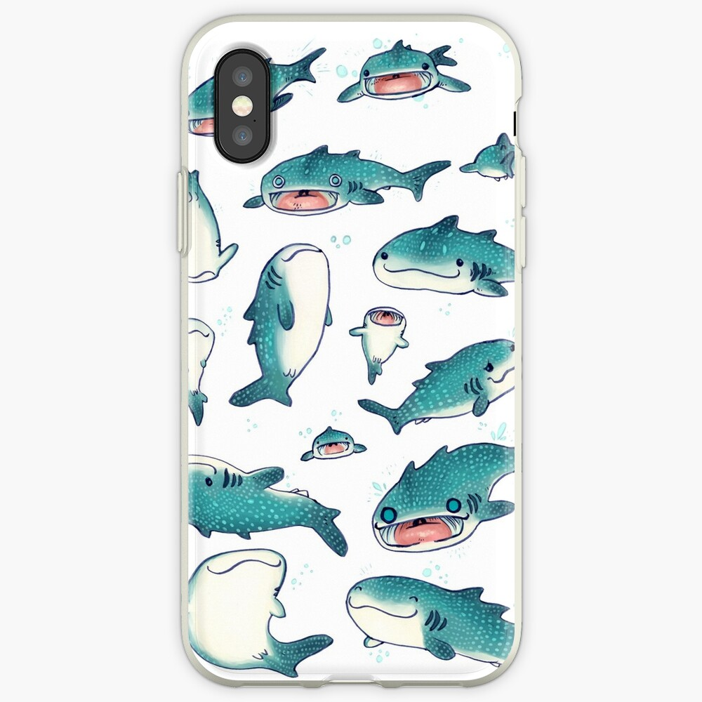 whale sharks! iPhone Case & Cover