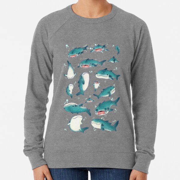 whale sharks! Lightweight Sweatshirt