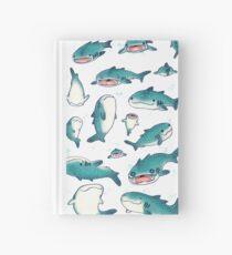 Cuaderno de tapa dura ¡tiburones ballena!