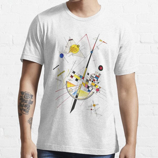 HIGH RESOLUTION Delicate Tension #85 Wassily Kandinsky Essential T-Shirt