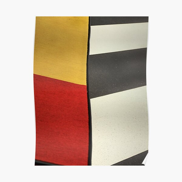 Stripes and Shapes Poster