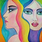 Painted Ladies by Karin Zeller