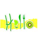 Hello Fruit by SueAnnApparel