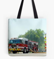Working Fire Tote Bag