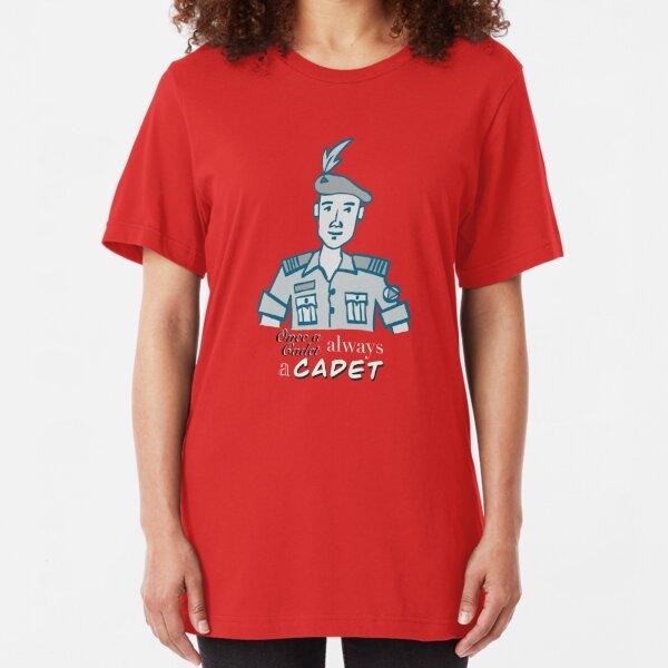 Once a Cadet always a Cadet 02 Slim Fit T-Shirt
