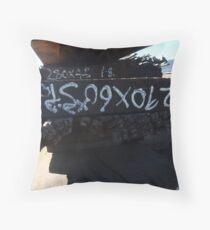 Old Woodpile Writing Throw Pillow