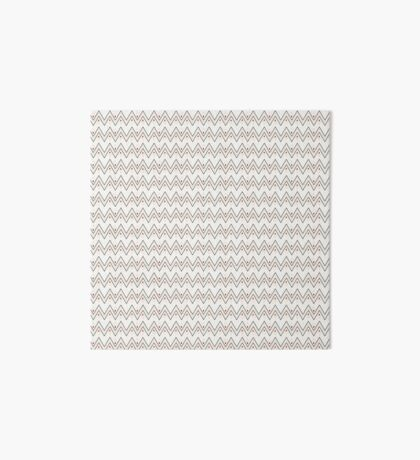 Diamonds and Pointy Lines (Patterns Please) Art Board Print