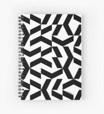 Chaotik K Spiral Notebook