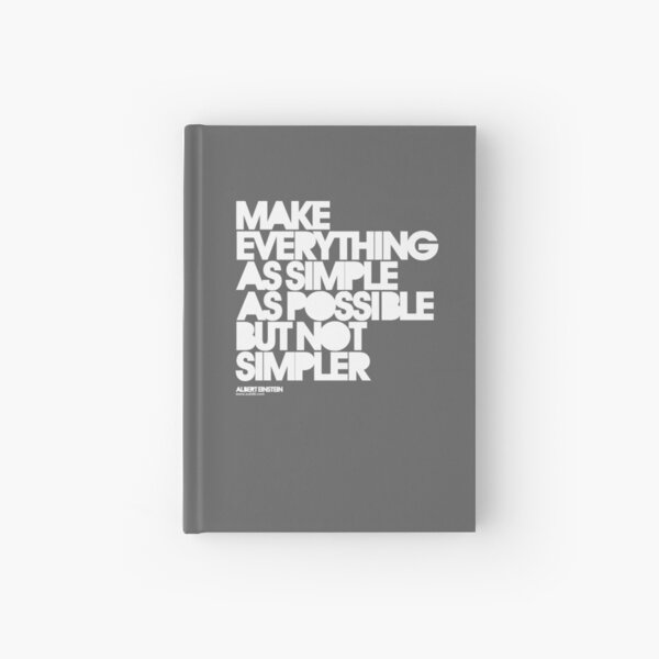Simple Hardcover Journal