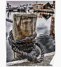 Harbour Mooring Poster