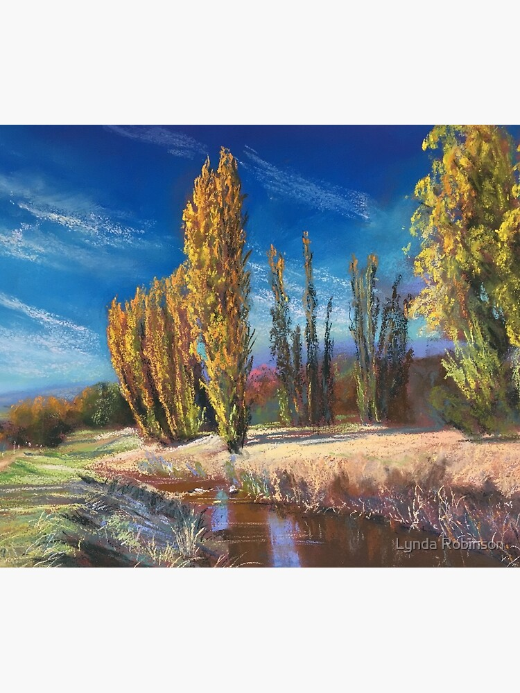 'Autumn - Adelong Creek' by Lyndarob