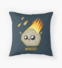 Cute Kawaii Asteroid Throw Pillow