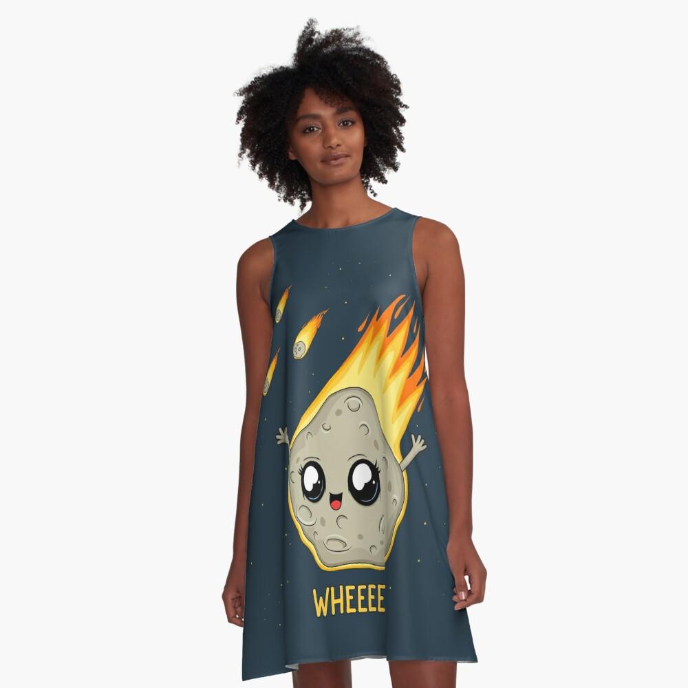 Cute Kawaii Asteroid A-Line Dress