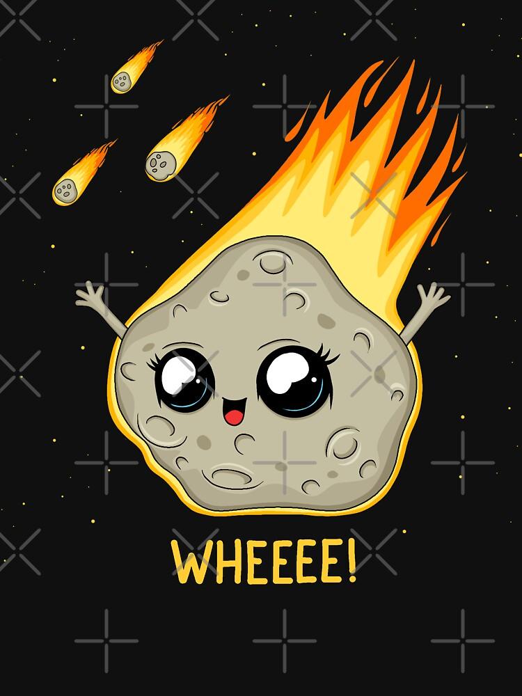 Cute Kawaii Asteroid by ValentinaHramov