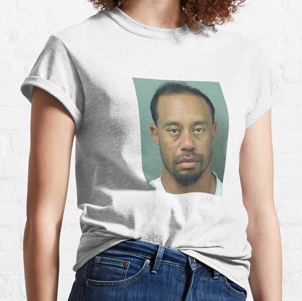 MUGSHOT DE TIGER WOOD T-shirt classique
