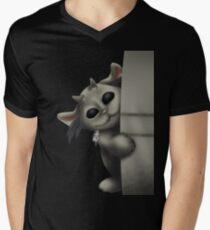 Ned T-Shirt mit V-Ausschnitt