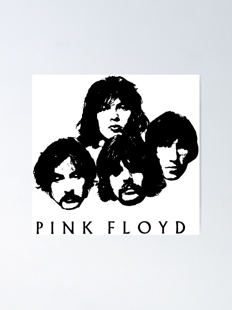 Pink Floyd Poster By Budimontgomery Redbubble