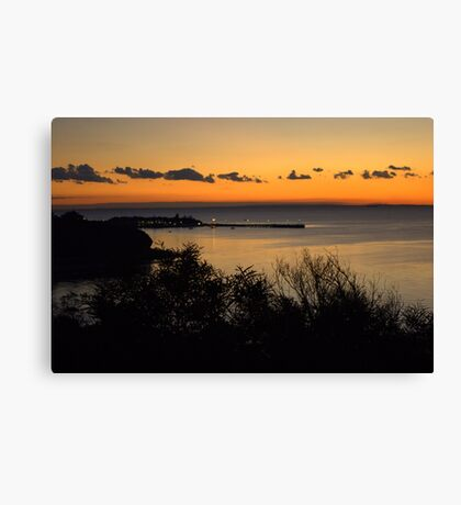 Mornington Pier Canvas Print