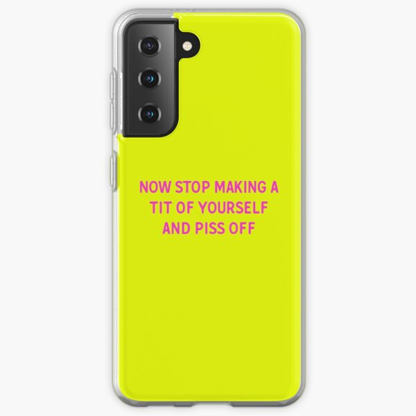 Line of Duty Quote Samsung Galaxy Soft Case