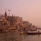 Varanasi morning by pennyswork