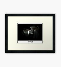 Canon 550D Side show Framed Print