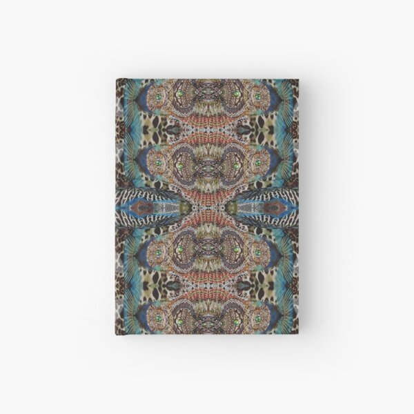 #art #decoration #pattern #ornate design antique mosaic abstract castle Hardcover Journal