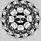«KITTY MANDALA» de R-J-DESIGN