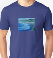 California Coastline painting T-Shirt