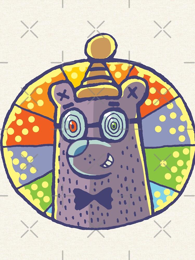 Hypnotic bear by duxpavlic