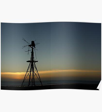 broken windmill Poster