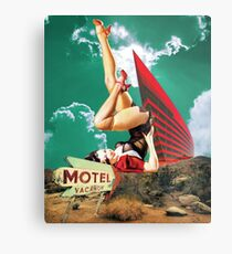 No tell motel Metal Print
