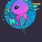 Super Cute Fantasy Sea Creature by perdita00