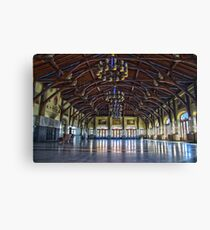 Mount Royal viewpoint chalet Canvas Print