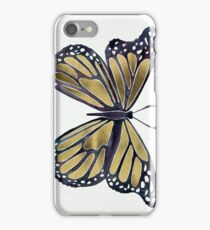Gold Butterfly iPhone Case/Skin