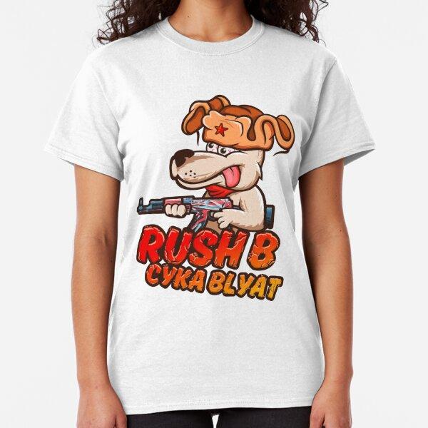 Rush B Cyka Blyat (CS:GO) Classic T-Shirt