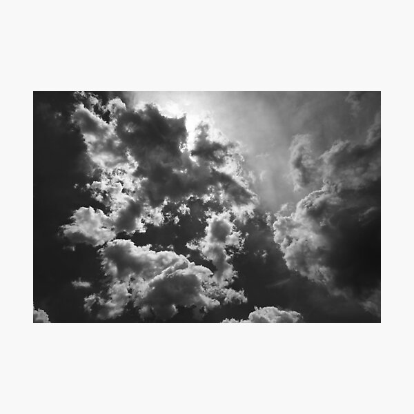 Umbrian Clouds, Italy Photographic Print