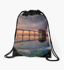 Bembridge Lifeboat Station Sunset Drawstring Bag