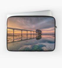 Bembridge Lifeboat Station Sunset Laptop Sleeve