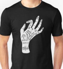 Palm Reading Unisex T-Shirt