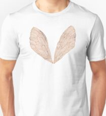 Cicada Wings in Rose Gold Unisex T-Shirt