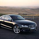 Audi S5 Coupe Sunset by Pavle