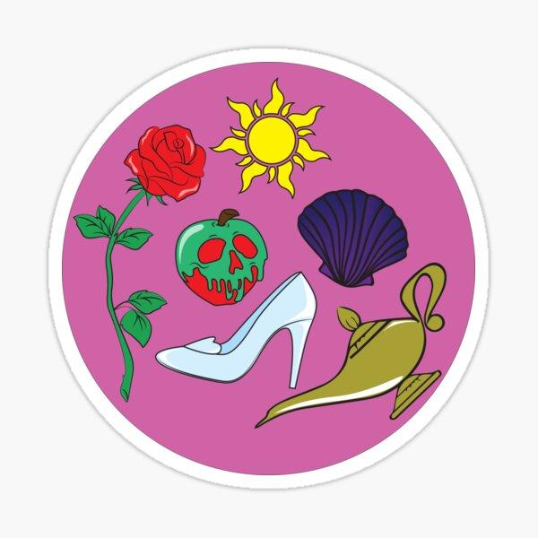 Princess Icons Sticker