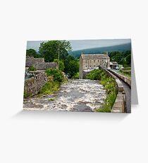 Gayle Mill - Hawes Greeting Card