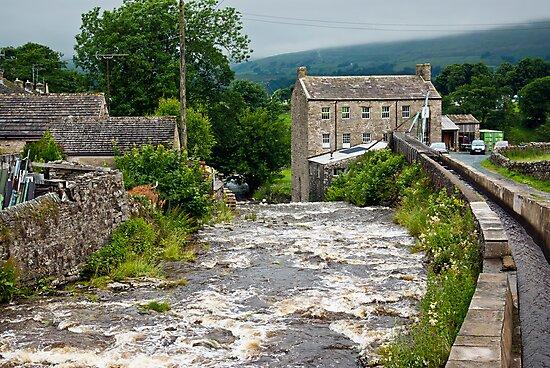 Gayle Mill - Hawes by Trevor Kersley