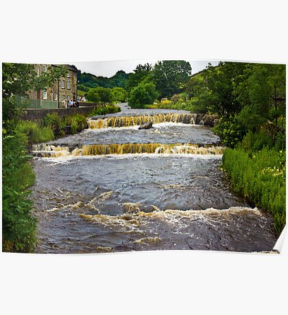 Gayle Mill Force (Gayle Beck) - Hawes Poster