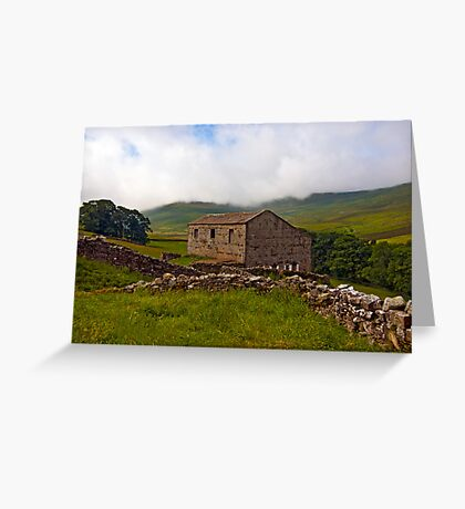 Dales Stone Barn Greeting Card