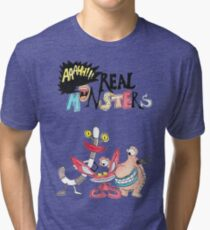 Real Monsters! Tri-blend T-Shirt