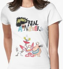 Real Monsters! Women's Fitted T-Shirt
