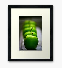 Green Apple, apple, apple... Framed Print